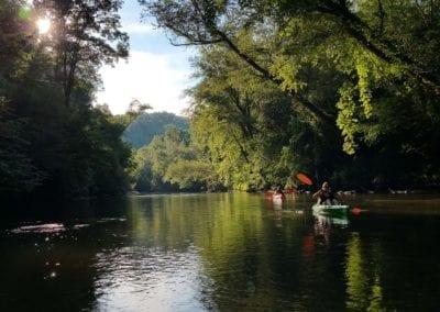 Kayaks and Tubes