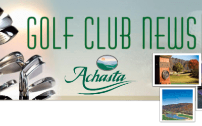 Achasta Golf Committee Update